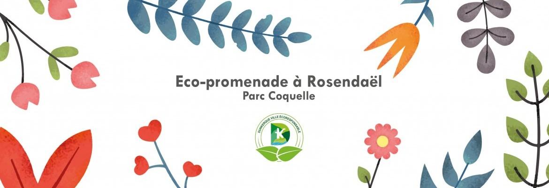 Eco-promenade à Rosendaël - parc Coquelle