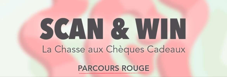 Scan & Win : La Chasse aux Chèques Cadeaux - PARCOURS ROUGE