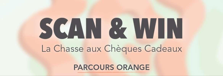 Scan & Win : La Chasse aux Chèques Cadeaux - PARCOURS ORANGE