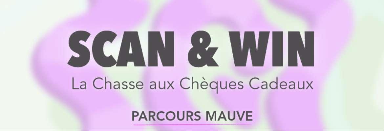 Scan & Win : La Chasse aux Chèques Cadeaux  - PARCOURS MAUVE