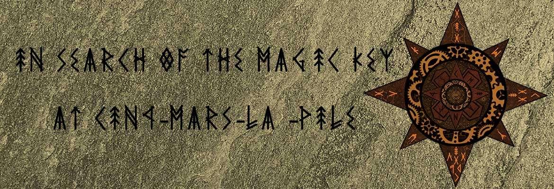 In search of the magic key at Cinq-Mars-la-Pile