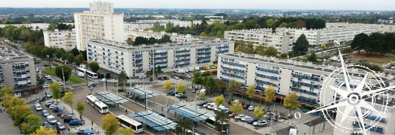 Image à la une du balade: Bellevue, la jungle urbaine à Saint-Herblain