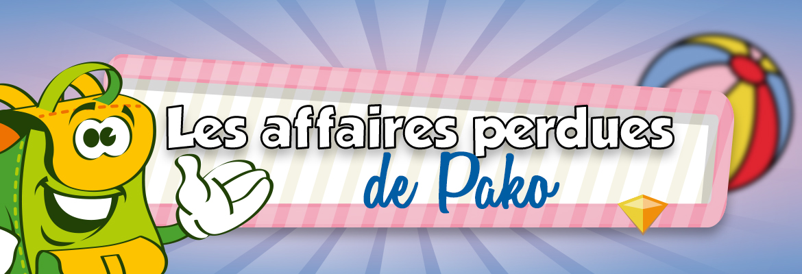 Les affaires perdues de Pako