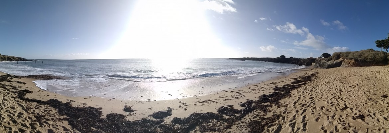 La côte de Jade à bicyclette