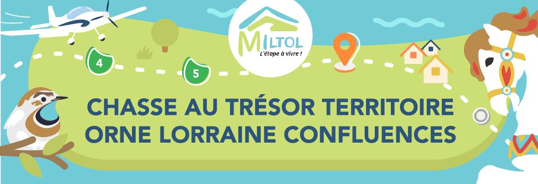 Chasse au trésor territoire Orne Lorraine Confluences