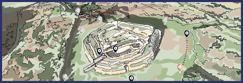 La mystérieuse pierre de Petit Mont