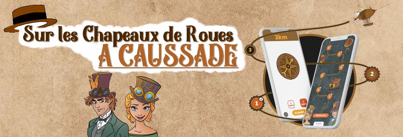 Image à la une du jeu de piste: Sur les chapeaux de roues à Caussade ! à Caussade