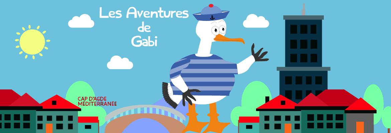 Image à la une du : L'aventure de Gabi le Gabian à la recherche des sardines. à Agde
