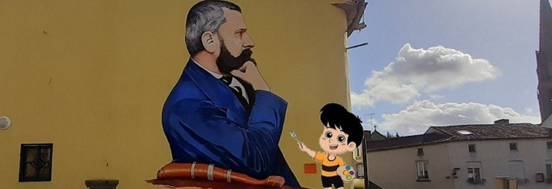 Aide Lucien, l'apprenti peintre à retrouver les pinceaux de Félix Lionnet