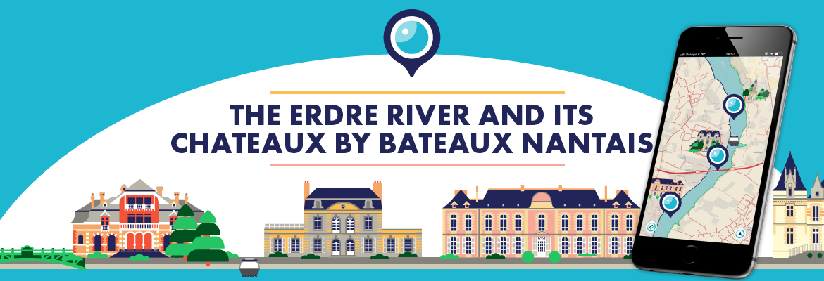 The Erdre River and its chateaux by Bateaux Nantais