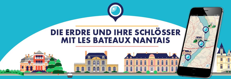 Die Erdre und ihre Schlösser mit Les Bateaux Nantais