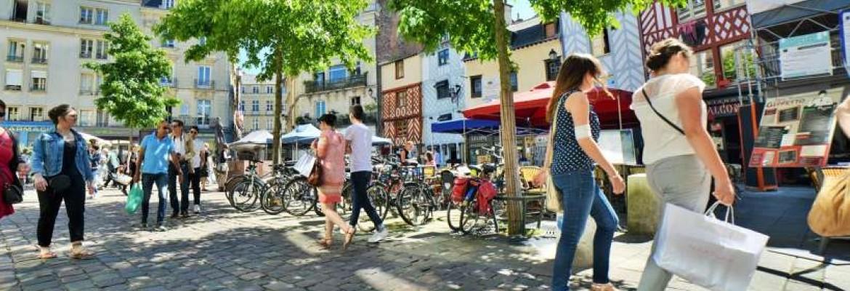Parcours shopping, de place en place…