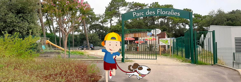 Louis mène l'enquête au Parc des Floralies
